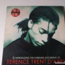 Discos de vinilo: TERENCE TRENT D ARBY, INTRODUCING THE HARDLINE ACCORDING TO 1987 ED ESPAÑOLA, CON EL PANFLETO. Lote 189565580