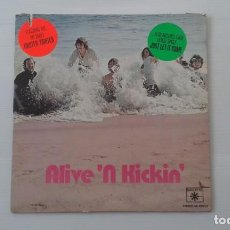 Discos de vinilo: ALIVE N KICKIN - ALIVE N KICKIN LP 1979 EDICION USA ROCK PSICODELICO. Lote 189577900