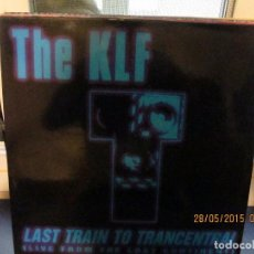 Discos de vinilo: THE KLF ‎– LAST TRAIN TO TRANCENTRAL (LIVE FROM THE LOST CONTINENT). Lote 189579082