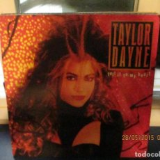 Discos de vinilo: TAYLOR DAYNE-TELL IT TO MY HEART. Lote 189579268