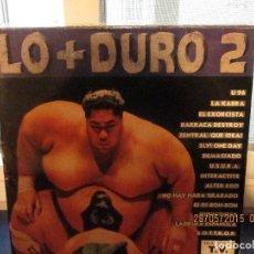 Discos de vinilo: VARIOUS – LO + DURO 2. Lote 189580156
