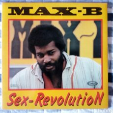 Discos de vinilo: MAX B - SEX REVOLUTION LP. Lote 189580610