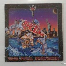 Discos de vinilo: KEEL - THE FINAL FRONTIER LP 1986 EDICION USA. Lote 189586530