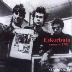 Discos de vinilo: ESKORBUTO ENSAYOS EN EL LOKAL 1982 JOYA PUNK/MUY BUSCADO CD NUEVO-PRECINTADO!!. Lote 189601472