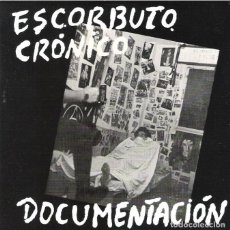 Discos de vinilo: ESCORBUTO CRONICO SINGLE/EP DOCUMENTACIÓN REE RADIKAL NUEVO!! ATAUD VACANTE ESKORBUTO RIP LARSEN UVI. Lote 189602313