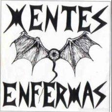 Discos de vinilo: SINGLE/EP MENTES ENFERMAS HEBEFRENIA 1993 JOYA PUNK BARAKALDO RAREZA MUY BUSCADO! ESKORBUTO RIP UVI. Lote 189602460