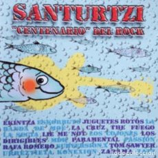 Discos de vinilo: CD SANTURTZI CENTENARIO DEL ROCK ESKORBUTO SUBVERSIÓN X ZARAMA LOS COJONES LA SECTA JOYA PUNK RAREZA. Lote 189602621