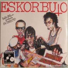 Discos de vinilo: ESKORBUTO LP + CD IMPUESTO REVOLUCIONARIO DRO REE NUEVO/PRECINTADO!! RIP CICATRIZ VULPESS LARSEN MCD. Lote 207168593
