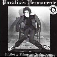 Discos de vinilo: PARÁLISIS PERMANENTE SINGLES CD NUEVO/PRECINTADO!!. Lote 189603065
