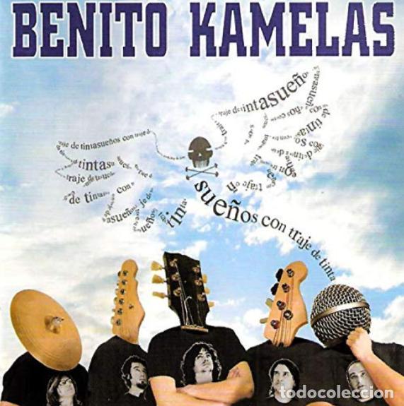 Usado, BENITO KAMELAS SUEÑOS CON TRAJE DE TINTA 2007 CD NUEVO/PRECINTADO!! DESCATALOGADO! ESKORBUTO RIP MCD segunda mano