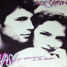 Discos de vinilo: DISCO VINILO MAXI ALEX Y CHRISTINA. Lote 189610428