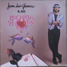 Discos de vinilo: JUAN LUIS GUERRA. BACHATA ROSA. KAREN, KLP-136 (5F). ESPAÑA, 1990. FUNDA VG++. DISCO VG++.. Lote 189613267
