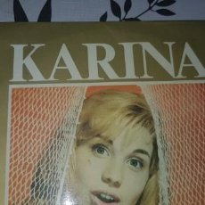 Discos de vinilo: KARINA MUY RARO Y DIFÍCIL DE CONSEGUIR. Lote 189620227