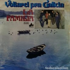 Discos de vinilo: LA FAMILIA - VOLTAREI PRA GALICIA - LP DE VINILO DE 1978 EN DISCOS DIAL CANTADO EN GALLEGO. Lote 189622788