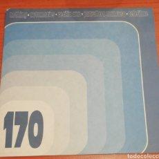 Discos de vinilo: ER-170 - EP VARIOS ARTISTAS ELEFANT RECORDS VINILO DE COLOR. Lote 189626652