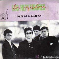 Discos de vinilo: LOS REPETIDORES DEJA DE LLAMARME+1 SINGLE/EP DALBO 1990 RAREZA POP ROCK. Lote 189626655
