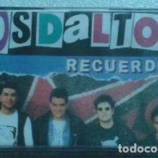 Discos de vinilo: LOS DALTON RECUERDOS BASATI 1993 CASSETTE PUNK BARAKALDO DEDICADO ALA MEMORIA JOSU JUALMA ESKORBUTO. Lote 189628883