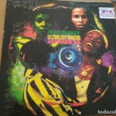 Discos de vinilo: ZIGGY MARLEY AND THE MELODY MAKERS JAHMEKYA LP SPAIN INSERTO. Lote 189631958