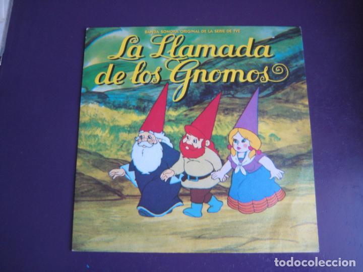 LA LLAMADA DE LOS GNOMOS SG ARIOLA 1987 - TELEVISION TVE - POCO USO (Música - Discos - Singles Vinilo - Bandas Sonoras y Actores)