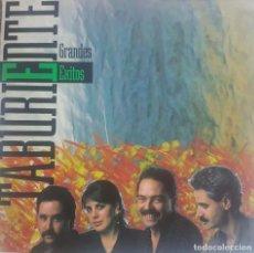 Discos de vinilo: TABURIENTE - GRANDES ÉXITOS - LUIS MORERA - EDITA MANZANA - 1989 - CANARIAS. Lote 189636725