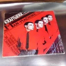 Discos de vinilo: KRAFTWERK ---- THE MAN MACHINE & THE ROBOTS & SPACELAB & THE MODEL + 2 -- NEAR MINT ( NM OR M- ). Lote 183335837