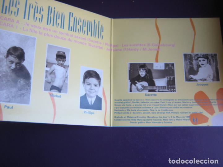Discos de vinilo: Les Très Bien Ensemble EP ELEFANT 1999 Je Veux Etre Un Symbol Sexuel +3 POP LOUNGE INDIE - FRESONES - Foto 2 - 189640418