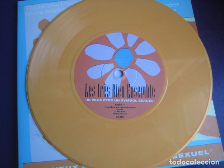 Discos de vinilo: Les Très Bien Ensemble EP ELEFANT 1999 Je Veux Etre Un Symbol Sexuel +3 POP LOUNGE INDIE - FRESONES - Foto 3 - 189640418