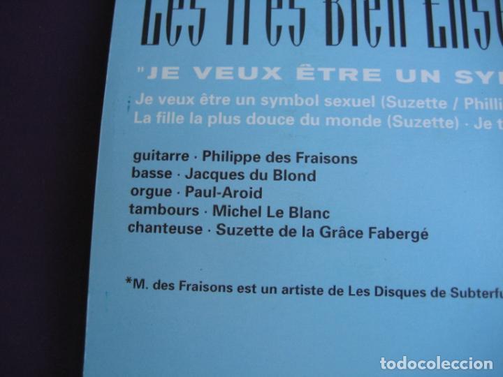 Discos de vinilo: Les Très Bien Ensemble EP ELEFANT 1999 Je Veux Etre Un Symbol Sexuel +3 POP LOUNGE INDIE - FRESONES - Foto 5 - 189640418