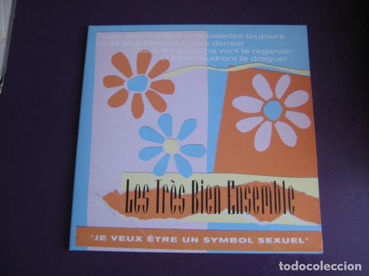 LES TRÈS BIEN ENSEMBLE EP ELEFANT 1999 JE VEUX ETRE UN SYMBOL SEXUEL +3 POP LOUNGE INDIE - FRESONES (Música - Discos de Vinilo - EPs - Grupos Españoles de los 90 a la actualidad)