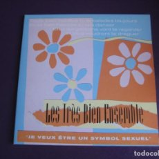 Discos de vinilo: LES TRÈS BIEN ENSEMBLE EP ELEFANT 1999 JE VEUX ETRE UN SYMBOL SEXUEL +3 POP LOUNGE INDIE - FRESONES. Lote 189640418