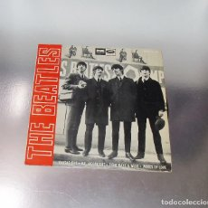 Discos de vinilo: THE BEATLES - KANSAS CITY ----LABEL AZUL FUERTE --1ª EDICION ESPAÑA 1964---DSOE 16643. Lote 189642391