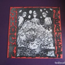 Discos de vinilo: SHOCK TREATMENT EP SUBTERFUGE 1992 - MASACRE EN EL BURGER KING +4 PUNK POP RAMONES CASTELLON. Lote 189642730
