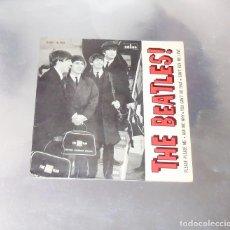 Discos de vinilo: THE BEATLES ---PLEASE PLEASE ME - -ORIGINAL 1ª EDICION AÑO 1964 DSOE 16.590 --LABEL AZUL FUERTE. Lote 189643391
