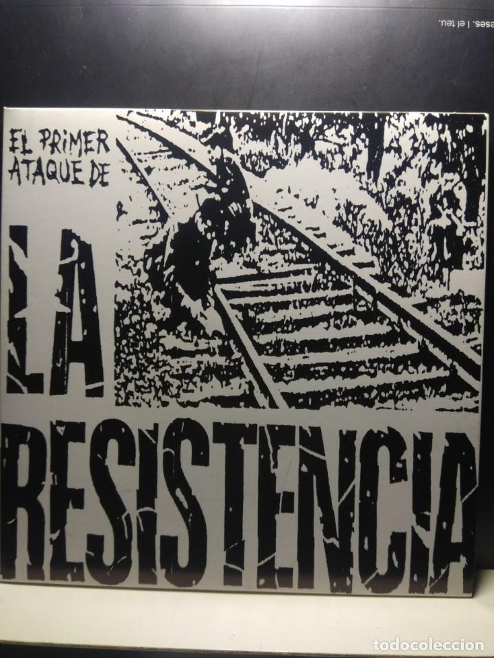 EP LA RESISTENCIA : EL PRIMER ATAQUE DE LA RESISTENCIA ( HARD CORE PUNK, RADIKAL RECORDS 1977 ) (Música - Discos de Vinilo - EPs - Punk - Hard Core)