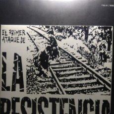 Discos de vinilo: EP LA RESISTENCIA : EL PRIMER ATAQUE DE LA RESISTENCIA ( HARD CORE PUNK, RADIKAL RECORDS 1977 ). Lote 189647851