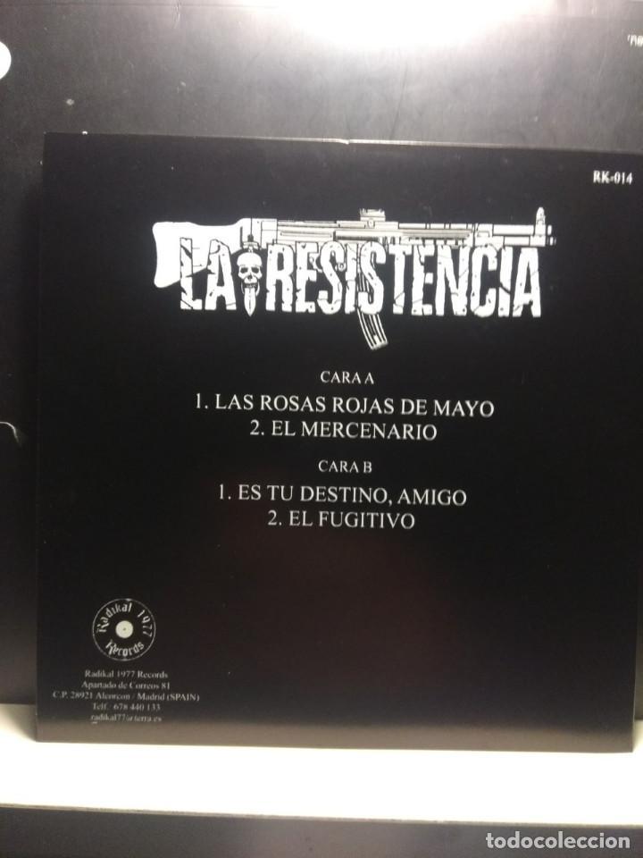 Discos de vinilo: EP LA RESISTENCIA : EL PRIMER ATAQUE DE LA RESISTENCIA ( HARD CORE PUNK, RADIKAL RECORDS 1977 ) - Foto 2 - 189647851