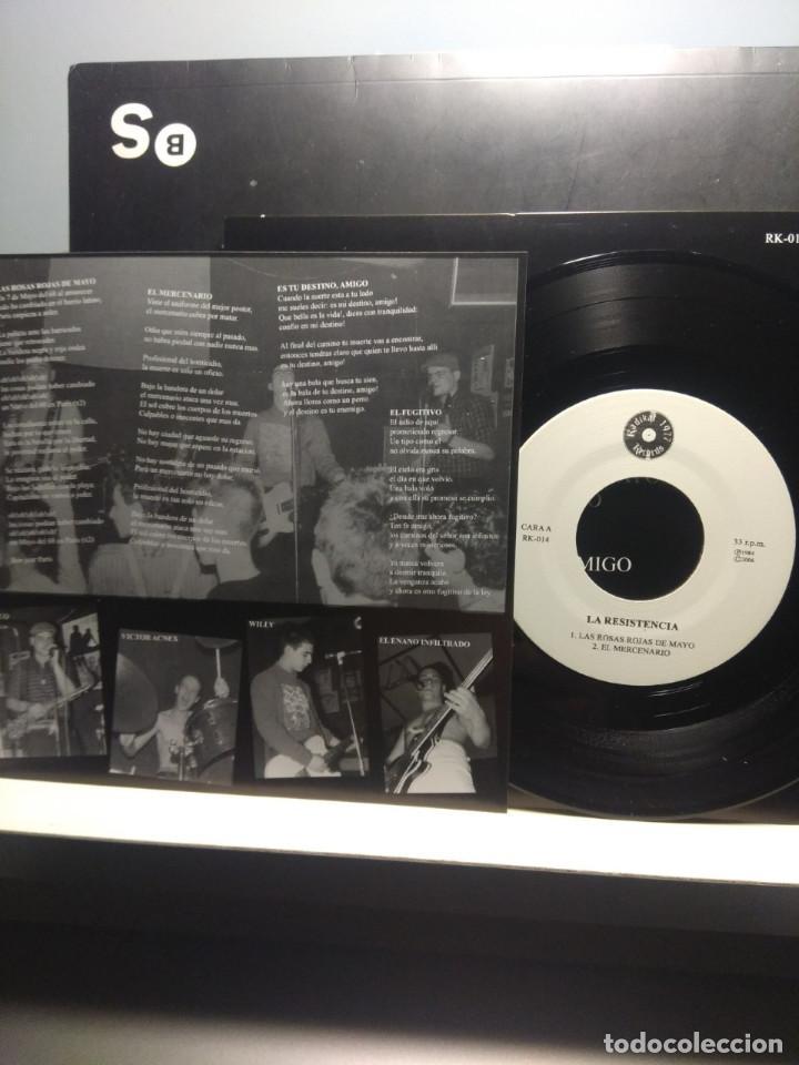 Discos de vinilo: EP LA RESISTENCIA : EL PRIMER ATAQUE DE LA RESISTENCIA ( HARD CORE PUNK, RADIKAL RECORDS 1977 ) - Foto 3 - 189647851