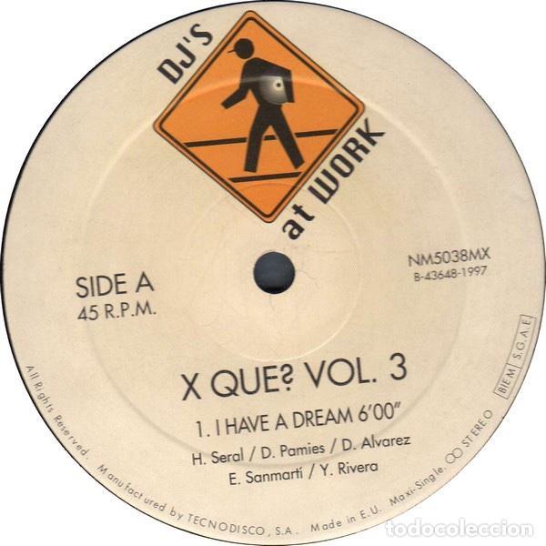 Discos de vinilo: vinilos Xque? vol.1 + vol.3 - Foto 4 - 189656335