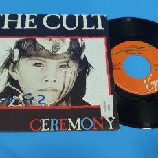 Discos de vinilo: DISCO DE VINILO THE CULT CEREMONY SINGLE. Lote 189672038
