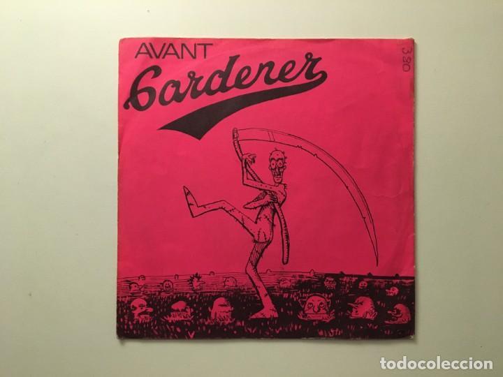 AVANT GARDENER – GOTTA TURN BACK - STRANGE GURL IN CLOTHES - BACK DOOR - BOODCLAD BOOGIE UK 1977 (Música - Discos de Vinilo - EPs - Punk - Hard Core)
