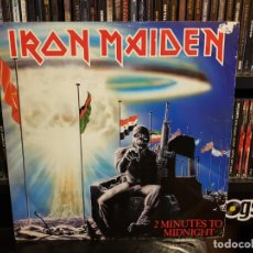 Discos de vinilo: IRON MAIDEN - 2 MINUTES TO MIDNIGHT. Lote 189679108