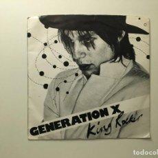 Discos de vinilo: GENERATION X – KING ROCKER - GIMME SOME TRUTH UK 1979 CHRYSALIS. Lote 189679112