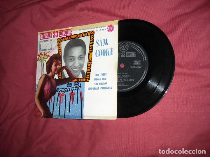 SAM COOKE - HEY THERE + 3 - EP RCA SPA 1961 VER FOTO ADIONAL (Música - Discos de Vinilo - EPs - Funk, Soul y Black Music)
