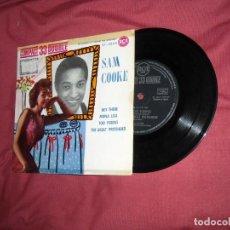 Discos de vinilo: SAM COOKE - HEY THERE + 3 - EP RCA SPA 1961 VER FOTO ADIONAL. Lote 189681722