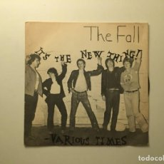 Discos de vinilo: THE FALL ?– IT'S THE NEW THING - VARIOUS TIMES UK 1978 STEP-FORWARD RECORDS. Lote 189697782