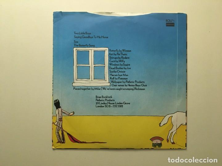 Discos de vinilo: Splodgenessabounds – Two Little Boys - Saying Goodbye To His Horse - Sox - The Butterfly Song UK - Foto 2 - 189700008