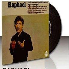 Discos de vinilo: RAPHEL VERSION ORIGINAL DE DIGAN LO QUE DIGAN BANDA ORIGINAL DE LA PELICULA DIGAN LO QUE DIGAN. Lote 189710676