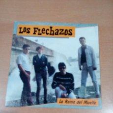 Discos de vinilo: LOS FLECHAZOS - LA REINA DEL MUELLE - BUEN ESTADO- LEER - VER FOTOS. Lote 189717960