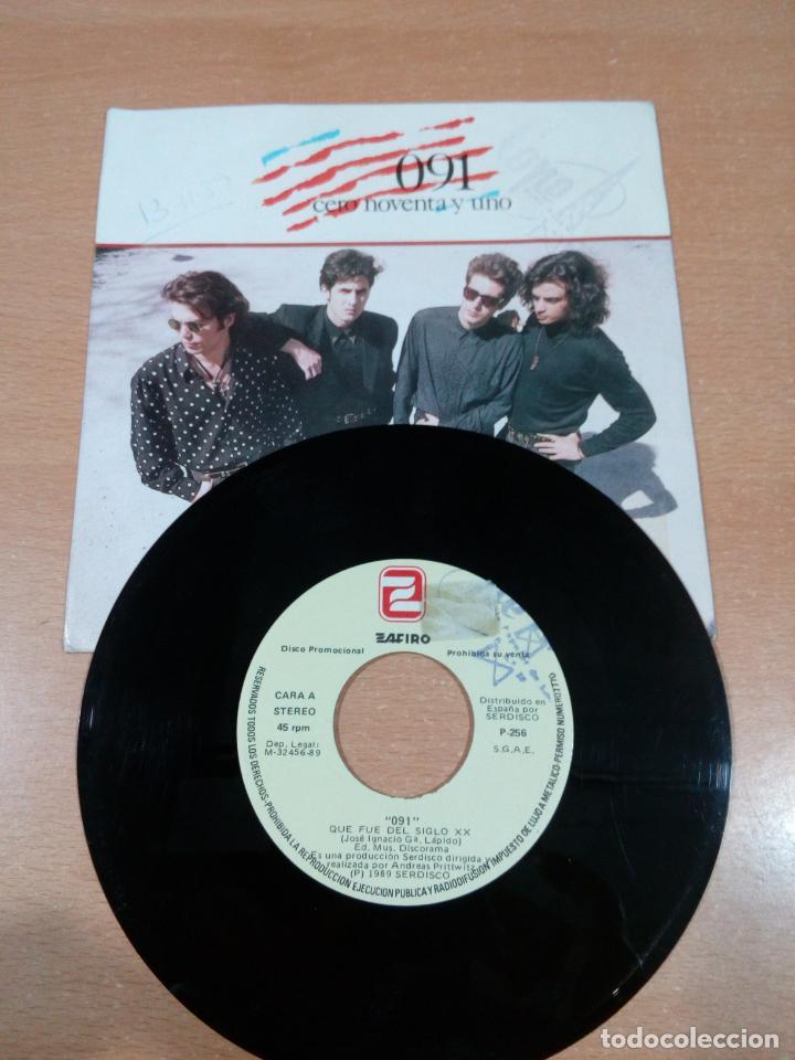 Discos de vinilo: 091 - cero noventa y uno - que fue del siglo xx - disco promocional- buen estado -leer- ver fotos - Foto 3 - 189718027