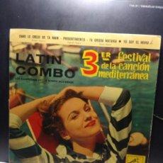 Discos de vinilo: EP LATIN COMBO . EN LA CRUZ DE TU MANO . Lote 189727497